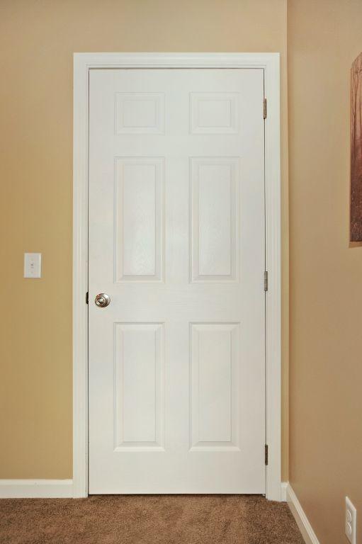 White 6Panel Interior Door  Modular Homes by Manorwood