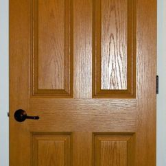 Used Kitchen Cabinets Indiana Kohler Sinks Oak Stained Solid Core 6-panel Interior Door | Modular ...