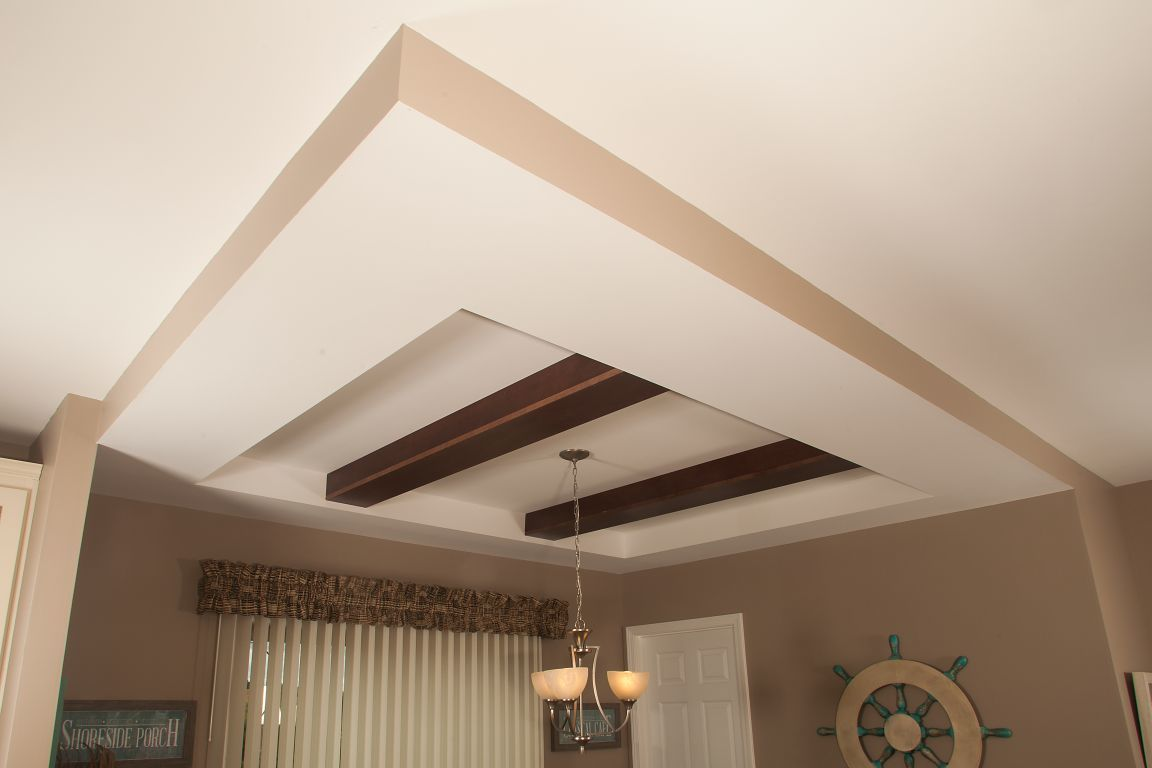 used kitchen cabinets indiana reface old tray ceiling with beams | modular homes by manorwood ...