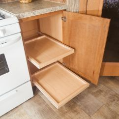 Kitchen Base Cabinet Pull Outs Small Apartment Table Out Shelves In Commodore Of Pennsylvania