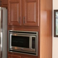 Bronze Kitchen Appliances Cabinet Door Replacements Microwave Pantry   Colony Homes