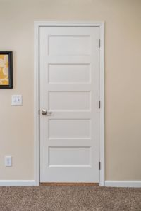 White 5-Panel Door | Commodore of Pennsylvania