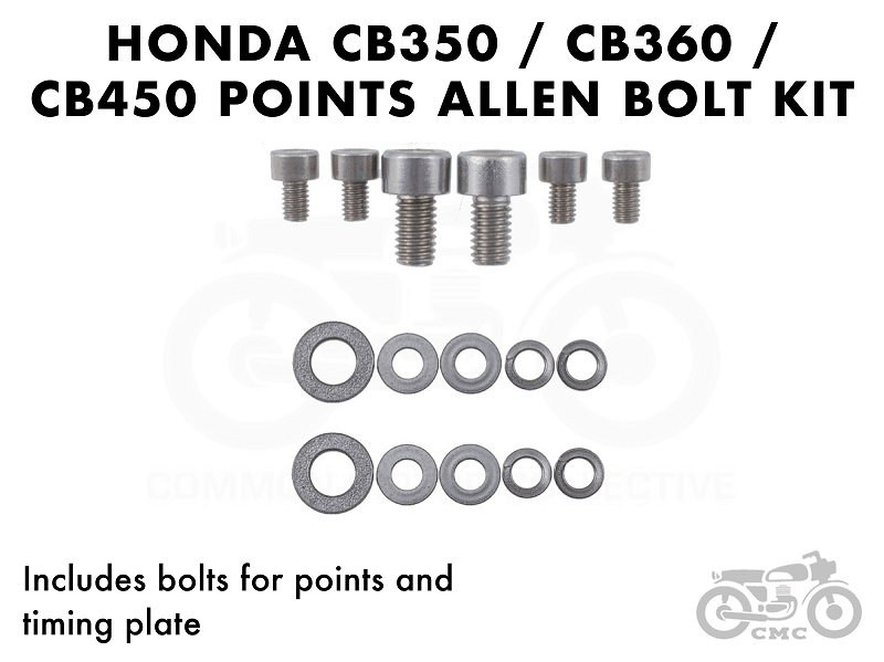 Honda Ignition Points and Timing Plate Allen Head Mounting