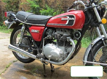 1975 Honda Cl360 Exhaust   hobbiesxstyle