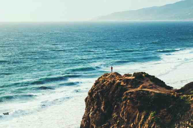 beachside overlook