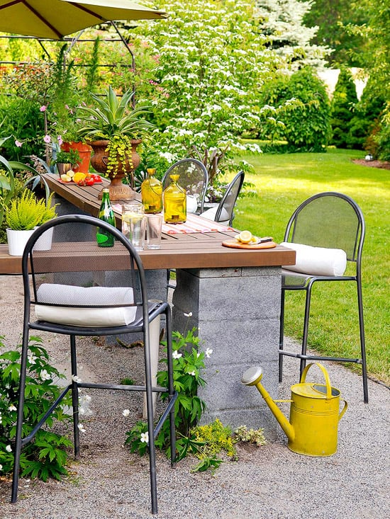Create outdoor space