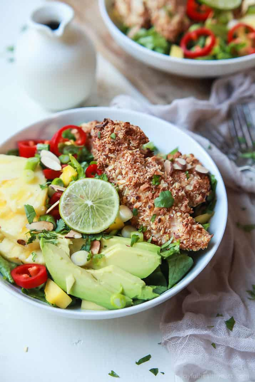 Tropical Coconut Chicken Salad