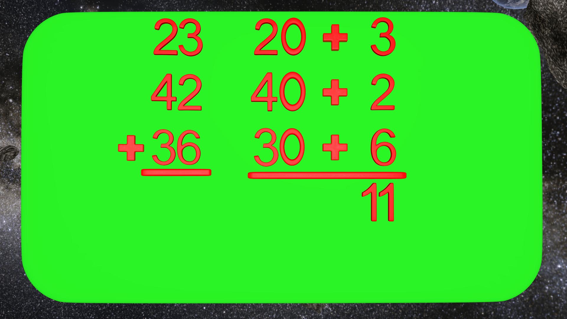 Adding Multiple Digit Numbers