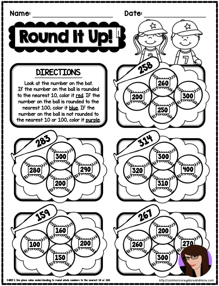 Spring Math Printables Beth Kelly