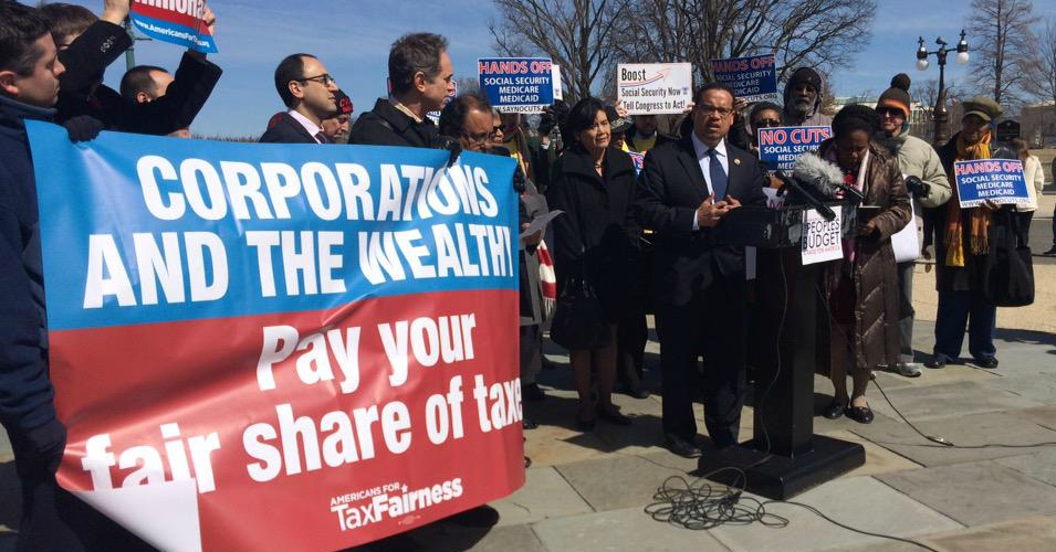 Image result for photos of marches for tax fairness / jobs