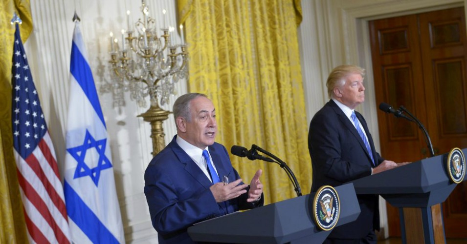 Image result for netanyahu and trump