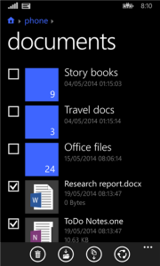 Files for Windows Phone 8.1