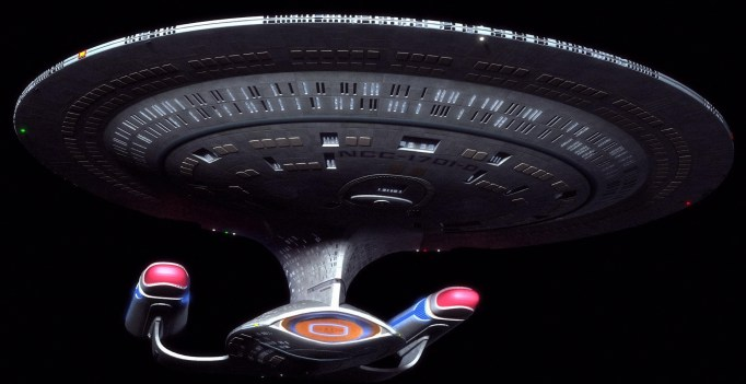 Screenshot from the TV series Star Trek: The Next Generation