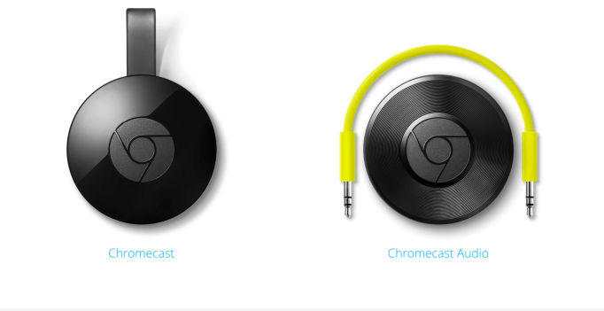 Via Google Chromecast site