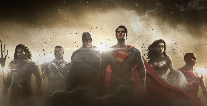 """Justice League concept art via """"The Dawn of the Justice League"""" TV special"""