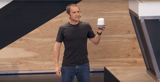 Google Home via Google I/O Keynote on YouTube