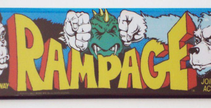 Rampage game screen