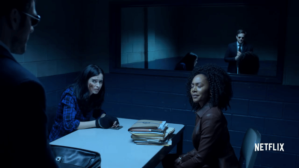 Matt Murdock, Misty Knight, Jessica Jones - Defenders Trailer