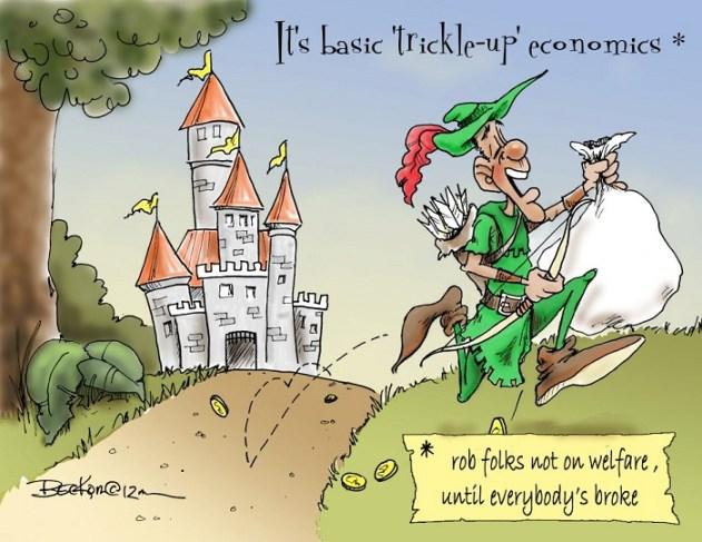Trickle-Up Economics