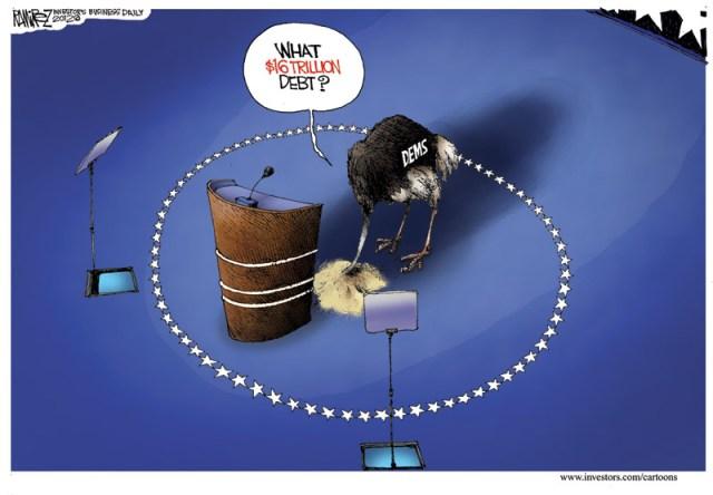 What 16 Trillion Debt?