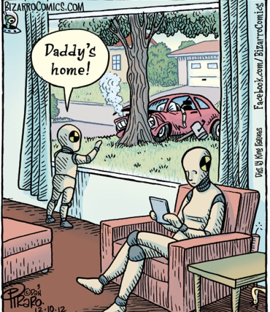 Crash Test Dummy Humor