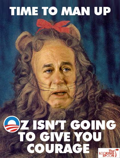 Boehner Cowardly Lion