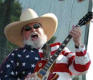 Charlie Daniels American Flag
