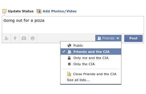 New Facebook Update Status
