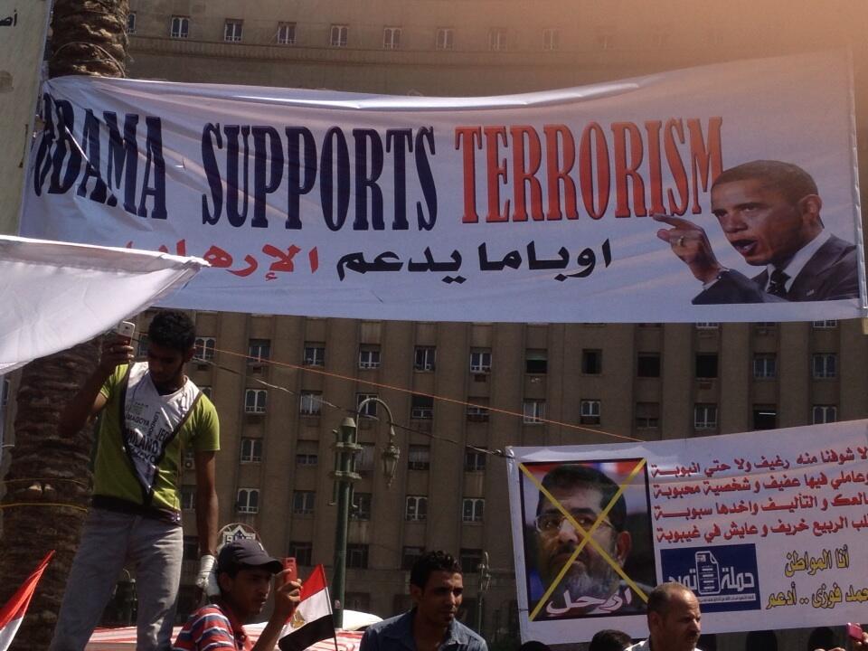 Anti-Brotherhood Protesters Get It