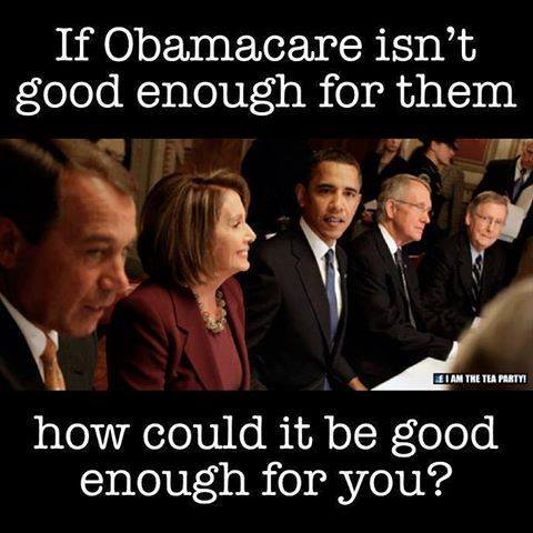 If ObamaCare isn't  Good Enough For Them