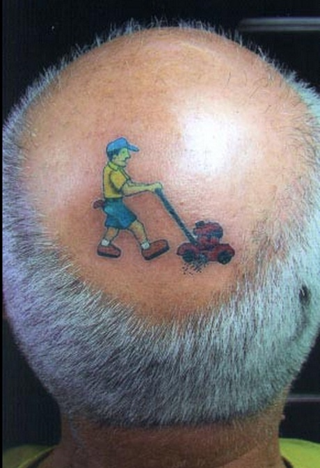 Cutting Grass Tatoo