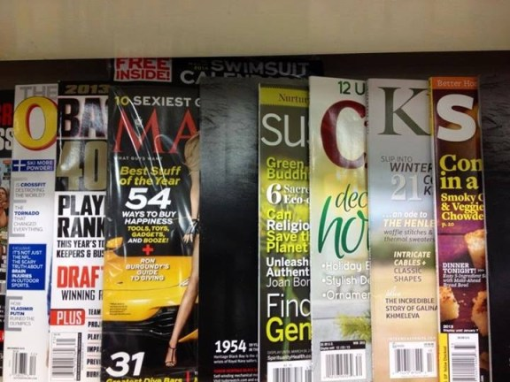 Seen At The Newsstand