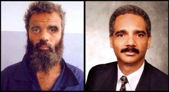 Eric Holder And Ahmed Abu Khattala
