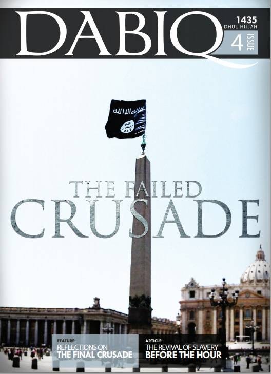 ISIS promises to conquer Rome and enslave women and children
