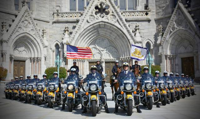 The Newark, NJ Police Motorcycle Squad