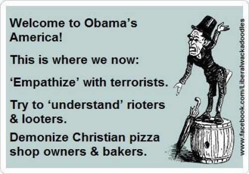 Welcome To Obama's America