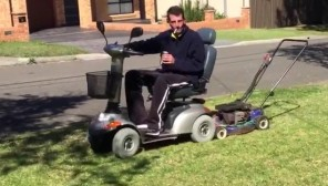 DIY Riding Mower