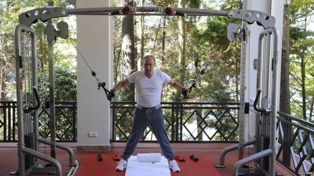 Putin Workout Video