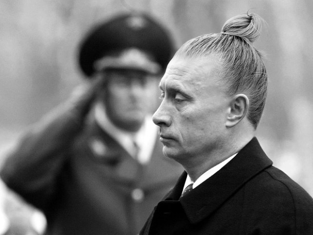 Politicians With Man Buns Putin