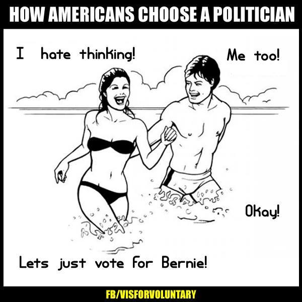 How Americans Choose A Politician