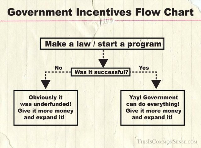 Government  Incentives Flow Chart