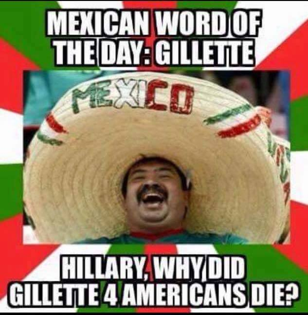 Mexican Word Of The Day Gillette