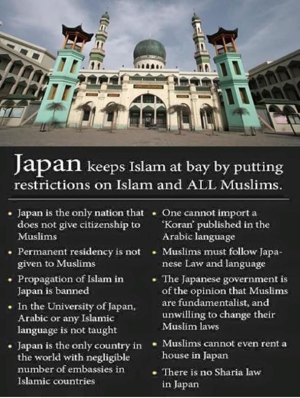 Japan And Muslims