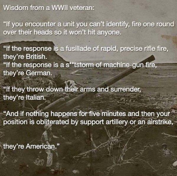 Wisdom From A WWII Veteran