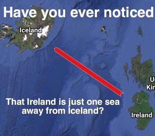 Iceland And Ireland
