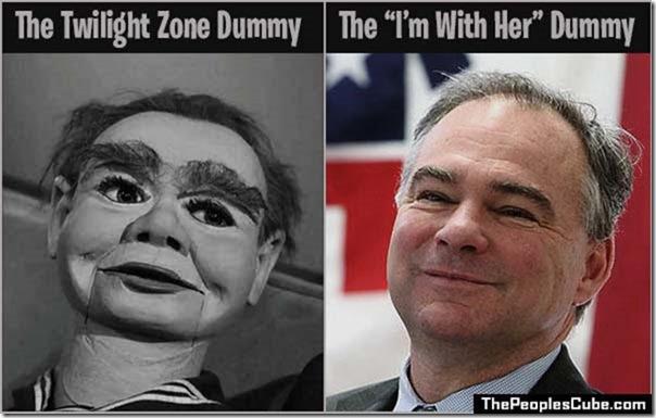 The Twilight Zone Dummy And Tim Kaine
