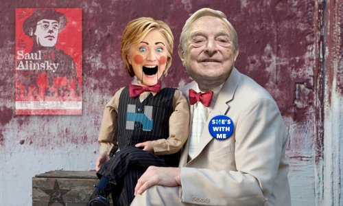 George Soros Phone Numbers - George Soros and Hillary Clinton - shes with me