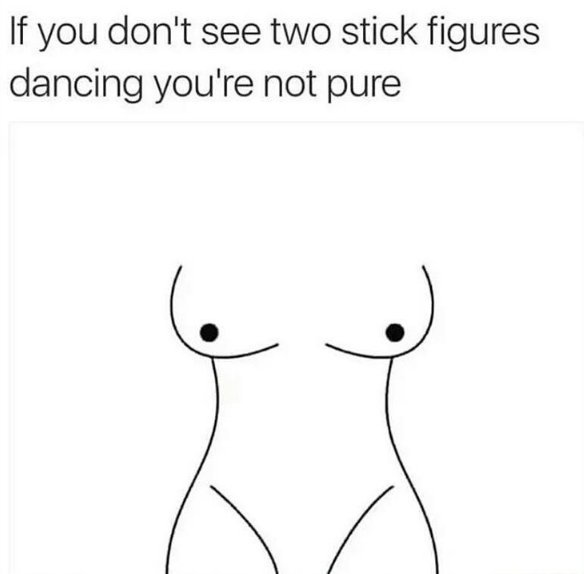 Two Stick Figures