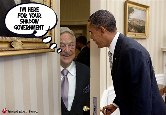 At Obama's Door Satan
