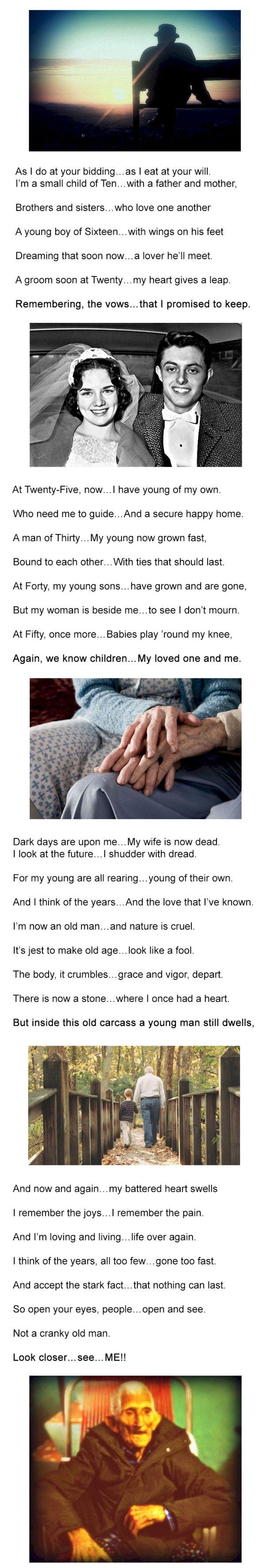 Cranky Old Man Poem